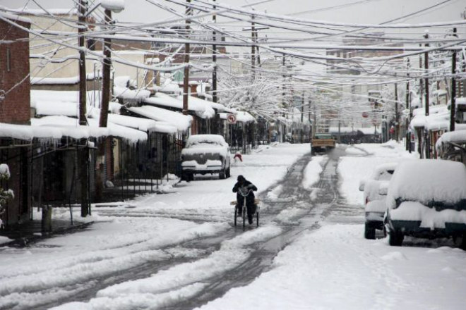 Насевере Мексики объявлено чрезвычайное положение из-за снегопадов